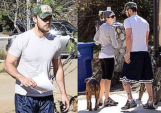 Photos of Justin Timberlake and Jessica Biel Posting Sign Looking for A New Owner for a Dog Named Millie