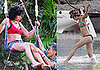 Photos of Bikini-Clad Amy Winehouse on Vacation in St. Lucia on a Trapeze and at the Beach