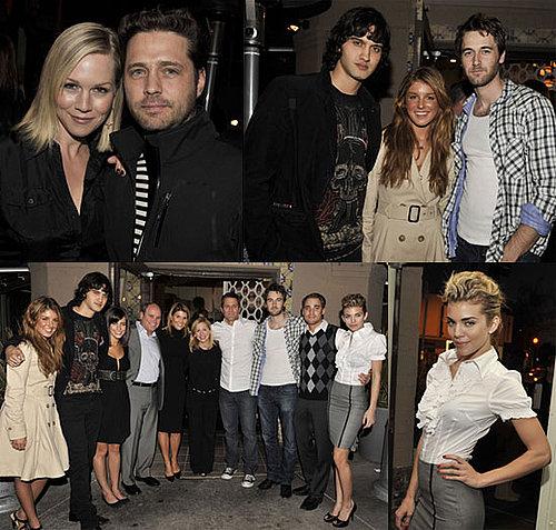 90210 Cast Party At The Peach Pit and Tori's Joining Them!