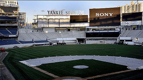 Yankee Stadium Teams Up With Sony