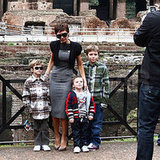 A Beckham Roman Holiday