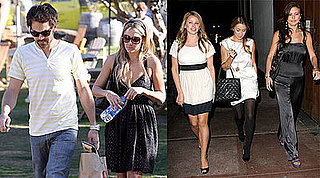 Photos of Lauren Conrad With Kyle Howard and Then Lo Bosworth and Audrina Patridge