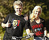 Photo of Heidi Montag and Spencer Pratt Wearing Obama Shirts