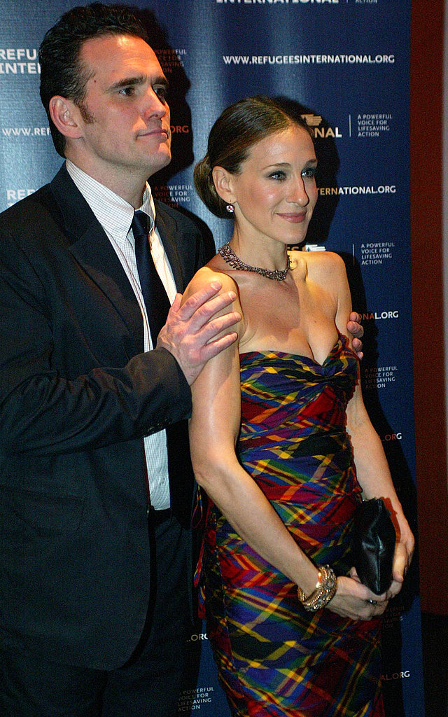 Sarah Jessica Parker and Matt Dillon in DC