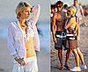 Photos of Paris Hilton in a Bikini for a FILA Photo Shoot