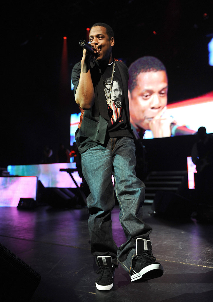 Jay-Z Eve of Change Concert