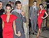 Photos of Victoria Beckham and David Beckham at Fendi Cocktail Party in Milan