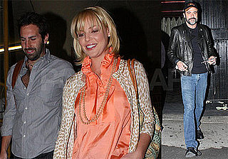 Photos of Katherine Heigl and Jeffrey Dean Morgan Watching Josh Kelley Perform at Hotel Cafe in LA