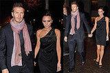 The Beckhams in Milan