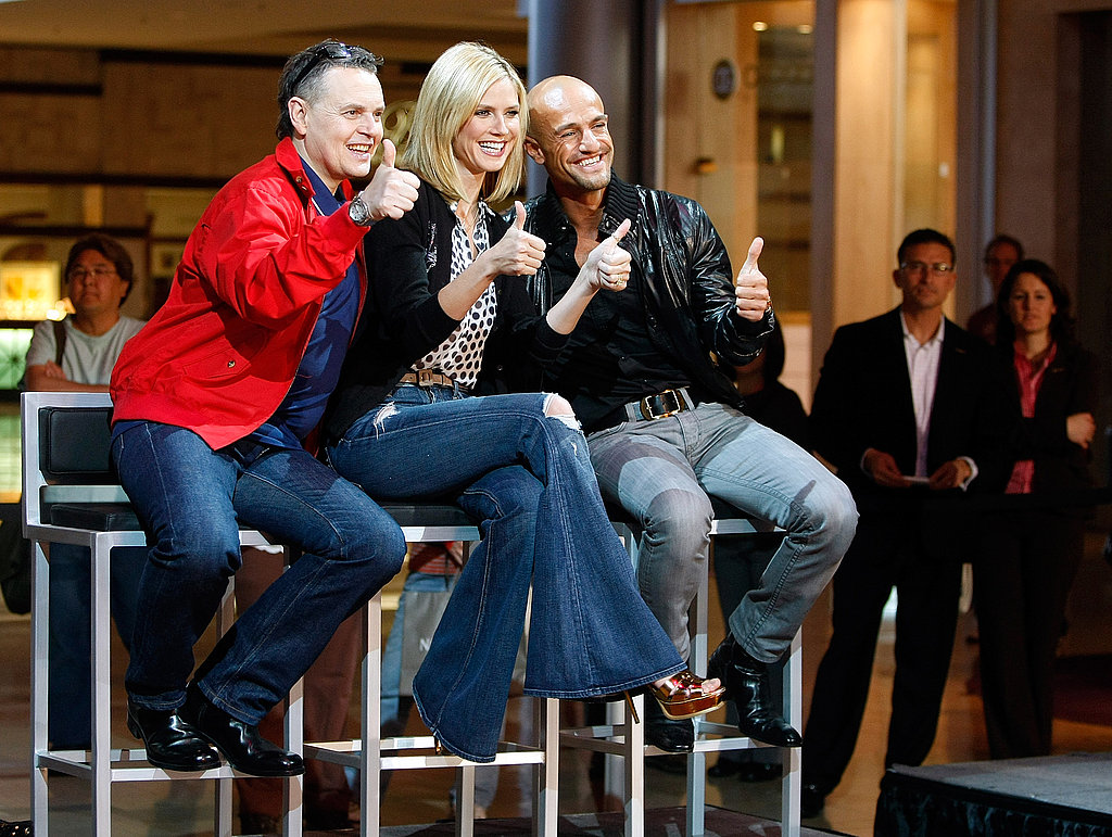 Heidi Klum in Germany's Next Top Model