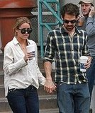 Lauren Conrad and Kyle Howard in LA