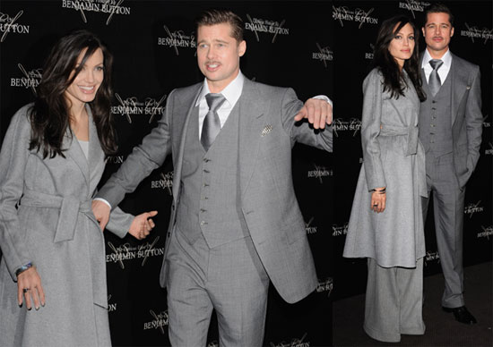 ... Angelina Jolie at the Paris Premiere of the Curious Case of Benjamin