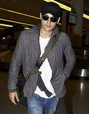 John Mayer at Airport