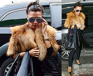 Photos of Victoria Beckham at Milan Airport