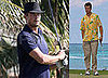Josh Duhamel in the Bahamas
