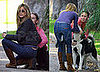Photos of Jennifer Aniston Rescuing a Lost Dog in LA