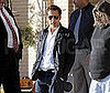 Photo of Clive Owen Leaving Barneys in LA