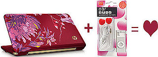 Vivienne Tam Netbook and Heart Earbuds Equals Love