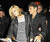 Photo of Jamie Hince and Kate Moss Leaving the Lily Allen Show