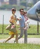 Tom, Katie and Suri in Brazil