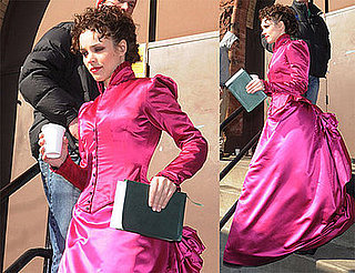 Rachel McAdams Is Seriously Pink For Sherlock Holmes