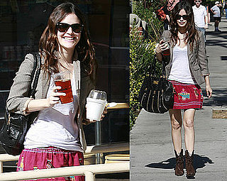 Rachel Bilson Is in Nesting Mode