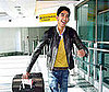 Photo of Slumdog Millionaire's Dev Patel Arriving at Heathrow