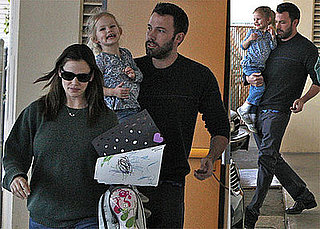 Photos of Jennifer Garner, Ben Affleck, Violet Affleck in LA