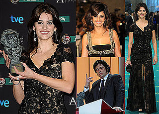 Photos of Penelope Cruz, Monica Cruz, Benicio Del Toro, and Paz Vega at the 2009 Goya Cinema Awards