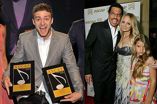 ASCAP images of Justin Timberlake, Nicole Richie and more