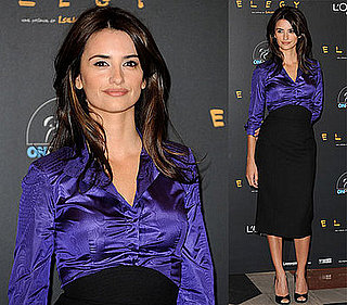 Penelope Cruz Promotes Elegy in Madrid