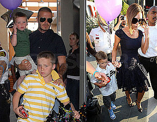 Posh Celebrates 34 With Her Four Favorite Boys