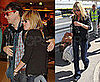 Kate Moss and Jamie Hince Party in London Before Flying to Edinburgh