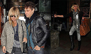 Kate Moss and Jamie Hince Out in Edinburgh, Scotland