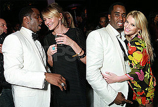 Diddy Parties With Cameron Diaz and Jessica Simpson