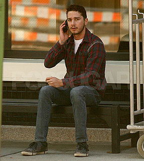 Shia LaBeouf in NYC