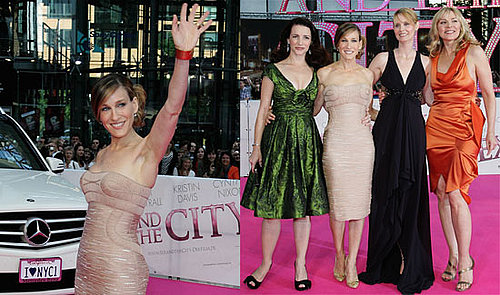 Sarah Jessica Parker, Cynthia Nixon, Kristin Davis, Kim Cattrall In Berlin For German Sex And The City Premiere