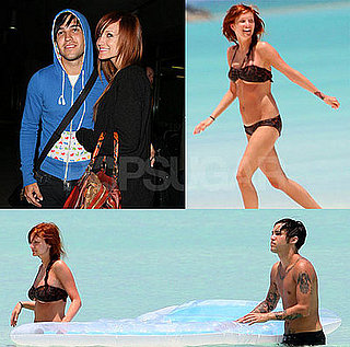 Ashlee Simpson on her Honeymoon in a Bikini