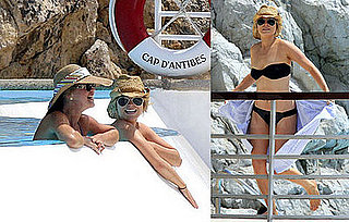 Images of Lindsay Lohan in a Bikini in Cannes