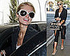 Paris Hilton Goes to Tanning Salon