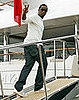 Diddy Boards His Yacht at Cannes