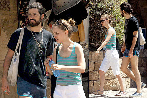 Natalie Portman and Devendra Banhart in Israel