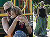 Pregnant Gwen Stefani Plays With Her Son Kingston Rossdale in LA