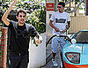 Photos of John Mayer in LA After Weekend With Jennifer Aniston