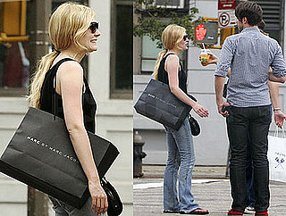 Kirsten Dunst Shops at Marc Jacobs on Her Day Off From Filming
