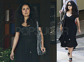 Photos of Salma Hayek Looking Hot In LA