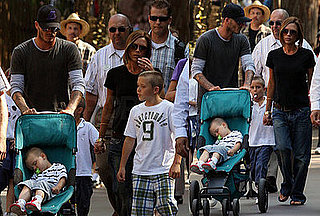 The Beckhams' Adorable Happy Times at Disneyland!