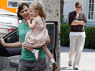 Photos of Violet Affleck and Jennifer Garner in Santa Monica