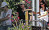 Photos of Ellen DeGeneres and Porti de Rossi at Courteney Cox and David Arquette's Home