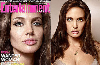 Angelina Jolie For Entertainment Weekly